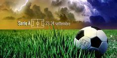 Le previsioni meteo di Fantaera.sui campi di serie A in ottica Fantacalcio (23-24 settembre) Crotone - Benevento : una volta tanto in Calabria non è previsto sole, ma domenica pomeriggio  il cielo dovrebbe essere nuvoloso. Nessun problema comunque , la temperatura sarà attorno ai 25 gradi, l #fantacalcio #fantaera