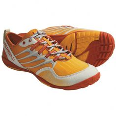 3e304222a4c Merrell Barefoot Trail Lithe Glove Running Shoes - Minimalist (For Women)  in Cosmo Orange