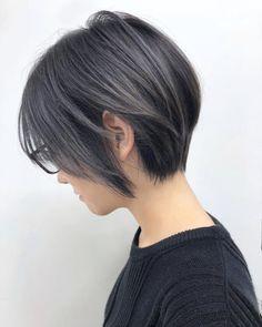 Short Hair Syles, Edgy Short Hair, Asian Short Hair, Short Hair Styles Easy, Girl Short Hair, Short Hair Cuts, Medium Hair Styles, Curly Hair Styles, Japanese Short Hairstyle