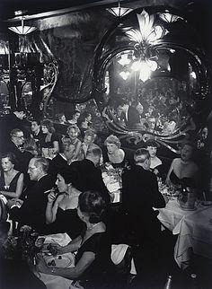 France. Gala Soiree at Maxim's, Paris 1949 // by Brassaï