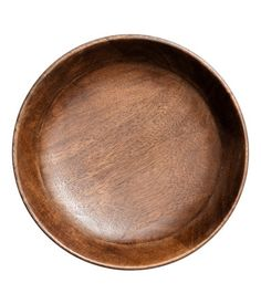 Serveringsfat i trä   Mörk natur   H&M HOME   H&M SE