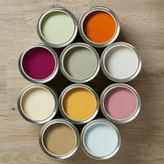 Colours to die for. Frenchic lazy range. I love every single one of them. The coverage is superior. Just paint and go. No waxing !! Superior chalk and mineral paint