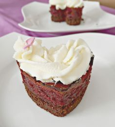 Bake Sweets, not War: San Valentín: Mini Red Velvet Cheesecake