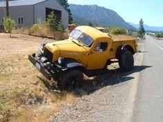Ever heard of a Swivel Frame Dodge Truck?