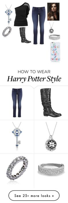 """Kristina Present"" by moon-me-stars on Polyvore featuring Bling Jewelry, OTM, maurices, women's clothing, women, female, woman, misses and juniors"