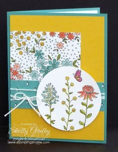 Stampin' Up! Flowering Fields Stamp Set
