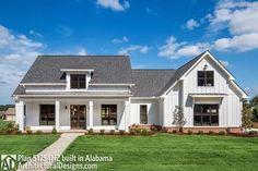 Modern Farmhouse Plan with Bonus Room - 51754HZ thumb - 01