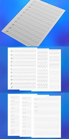 Copperplate Calligraphy, Calligraphy Practice, Handwriting Practice, Premium Choice, Sumi Ink, Stationery Templates, Printer Paper, Lower Case Letters, Lowercase A