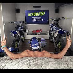 Motocross Quotes, Dirt Bike Quotes, Motocross Love, Motorcross Bike, Cool Dirt Bikes, Mx Bikes, Motorcycle Trailer, Bike Trailer, Dirt Bike Tattoo