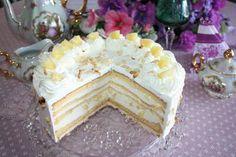 Badische Wein-Ananas-Torte