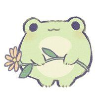 Cute Animal Drawings, Kawaii Drawings, Easy Drawings, Arte Do Kawaii, Kawaii Art, Arte Indie, Character Art, Character Design, Frog Drawing