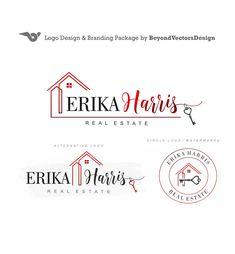 Real estate logo design - Real estate agent - Realtor logo - Broker logos - Real estate logos - For sale stamp - Open house stamp -Logo 419 Real Estate Logo Design, Logo Real, Realtor Logo, Circle Logos, Round Logo, For Sale Sign, Branding Kit, Business Names, Brand Packaging