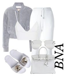 BNA by deborahsauveur on Polyvore featuring Rare London, See by Chloé, Dsquared2, Hermès and Yves Saint Laurent