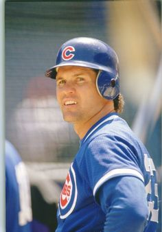 Ryne Sandberg... my first baseball crush when I was just a little girl.