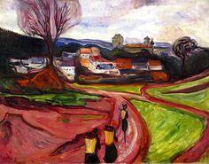 Elgersburg, Edvard Munch - 1905