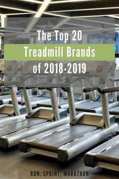 The Top 20 Treadmill Brands of 2018-2019
