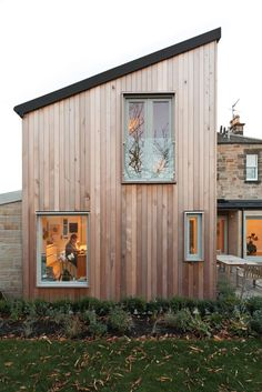 Helen Lucas Architects Edinburgh | project | timber wood cladding architect scotland | materials and detailing