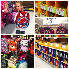 Gathering school supplies for a simple service project. #SIMPLEGiving #LetsBond #ad