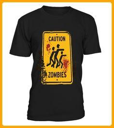 CautionZombies - Halloween shirts (*Partner-Link)