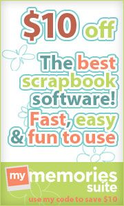 Use code STMMMS20887 to save 10 dollars off digital scrapbooking software!