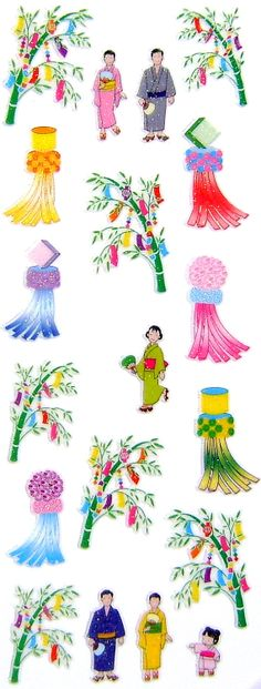 Beautiful Japanese Stickers Summer Stickers by FromJapanWithLove, $6.00