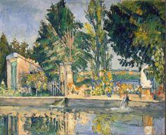Paul Cezanne - Jas de Bouffan, the Pool,  / 1876
