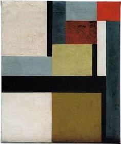 Wie senkrecht-wagerecht [Like vertical-horizontal], 1926 Kurt Schwitters