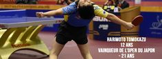 HARIMOTO Tomokazu, 12 ans et sacré à l'Open du Japon ! [Vidéos]