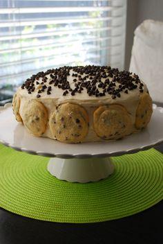 chocolate chip cookie dough cake!