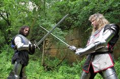 Armor a proposed tv show starring Randal Scott & Michael Moody.