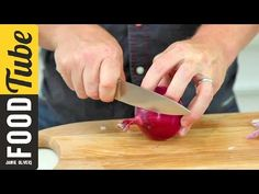 How To - chop an onion with Jamie Oliver - YouTube