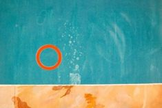 rubber ring floating in a swimming pool - david hockney 1971 David Hockney Pool, David Hockney Paintings, Pop Art Movement, Mosaic Wall, Art Of Living, Contemporary Paintings, Love Art, Art Inspo, Art Lessons
