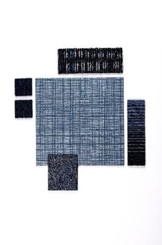 Native Fabric in Bluegrass with blue accents. Available US and EMEA. Design Palette, Luxury Vinyl Tile, Healthcare Design, Commercial Flooring, Rubber Flooring, Carpet Tiles, Blue Accents, Nativity