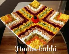 Discover thousands of images about salade varier Fruit Decorations, Food Decoration, Patty Food, Salad Presentation, Oriental Salad, Food Goals, Arabic Food, Healthy Appetizers, Creative Food
