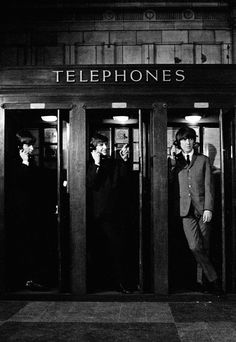 The Beatles in A Hard Day's Night, 1964