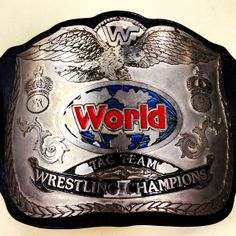 The #WWE World Tag Team Championship Titles!