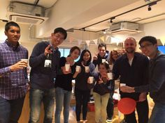 Tokyo office opening party with the JumpStart team