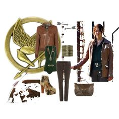 what to wear to watch Hunger Games, created by kareemakp