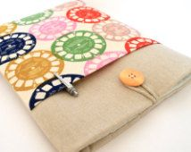 iPad Mini Case Cover Padded Fabric Tablet Sleeve with Pocket