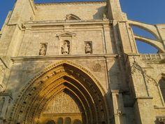 Catedral Palencia al atardecer (verano 2012)
