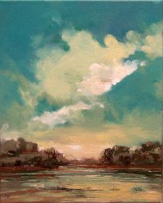original oil painting landscape 100 charity by PaintingWell, $85.00