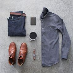 Follow @inisikpe for daily style #suitgrid to be featured _______________________ #SuitGrid by @awalker4715 _______________________ Tap For Brands #inisikpe Shirt: @acustom Denim: @katobrand Shoes: @orzhaus Watch: @omega Wallet: @baurdi
