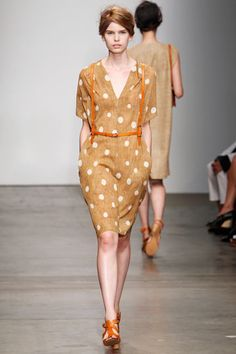 A Détacher »  Spring 2012 RTW »                                       maybe?  a little too lowcut & not my favorite color....but I think the suspenders are a hoot!