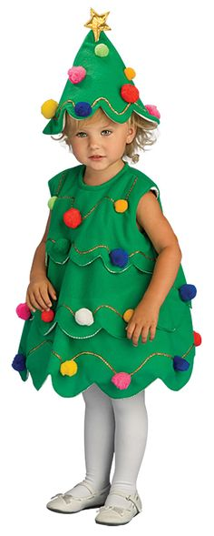 homemade christmas tree costumes for kids