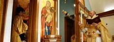 What the Tomten see Catholic School, Byzantine, Candle Sconces, Wall Lights, Candles, Architecture, Denver, God, News