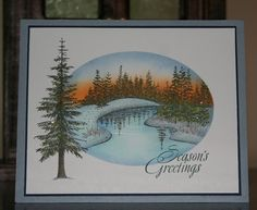 LSC199 Rocky Mountain Christmas by judylb - Cards and Paper Crafts at Splitcoaststampers