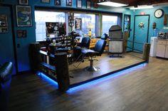 Standing Art Tattoos & Art Gallery Interior #tattoos #studio…