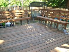Easy to use 2x4 Basics Deck Bench Brackets