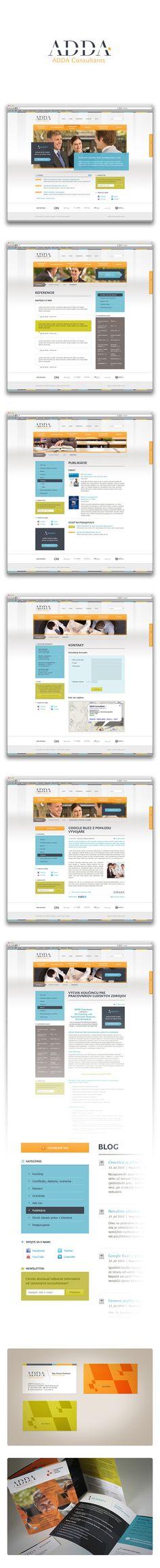 ADDA Consultants | Art4web | Kreatívna internetová agentúra | Tvorba webstránok, Grafický design, Copywriting, SEO