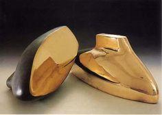 krzysztof m. bednarski, moby dick-podwójny, 1997, brąz polerowany
